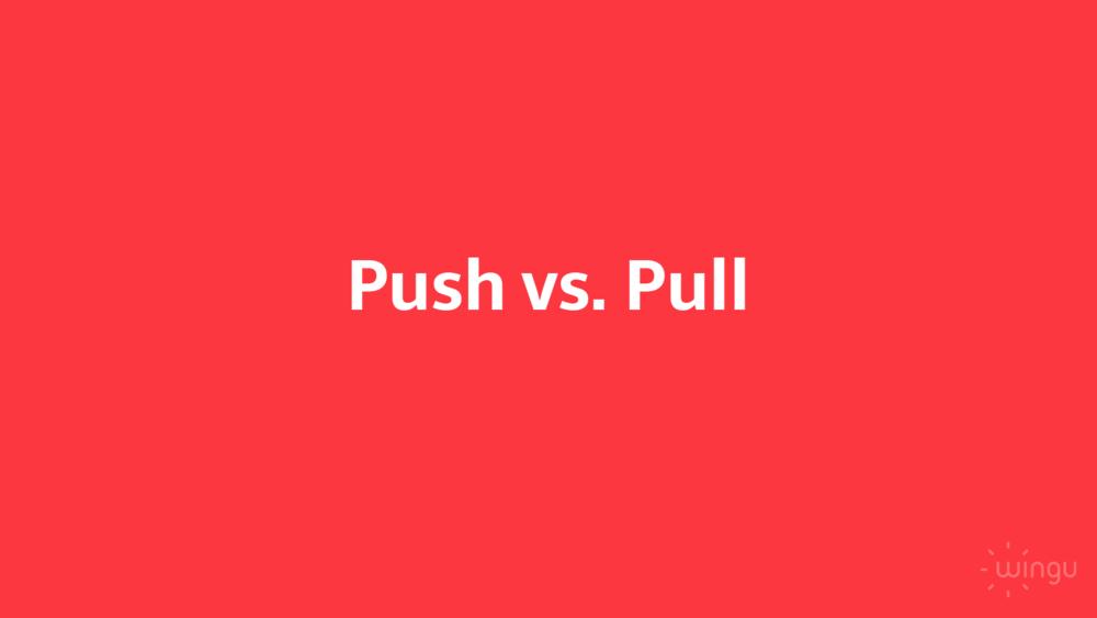 Im Vergleich NFC vs. Beacon ist das Szenarium entscheidend: Push oder Pull?