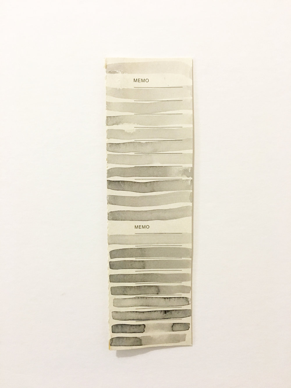Memo Strip, 2016