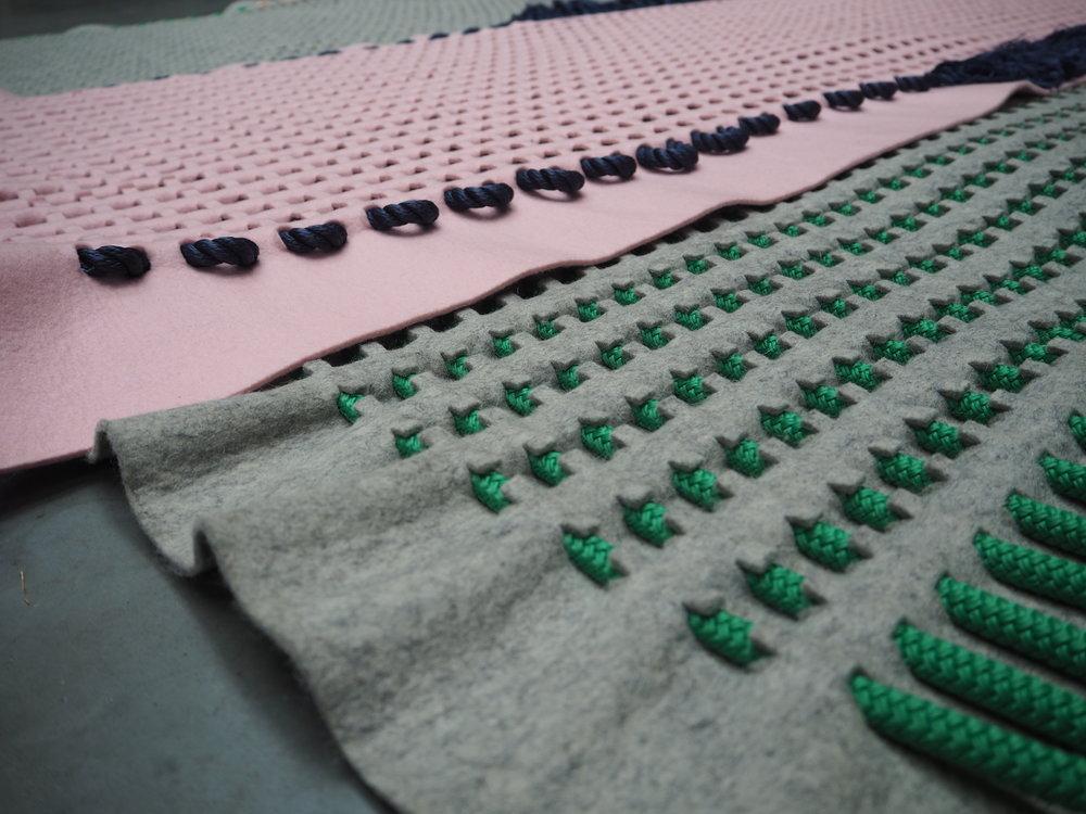 detail robin pleun textile structure