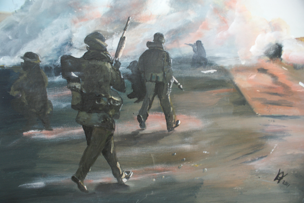 Andy Hollinghurst, Army Painting-4.jpg