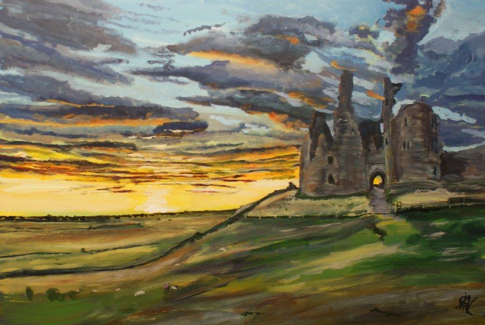 Dunstanbrough Castle
