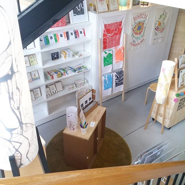 And just like that, we have reached the final week of our shop under the stairs at @brickandmortarcreative! Me, @wherenorthmeetssouth and @littlesisterco will be finishing up this Sun, all of us with new projects on the horizon. What a fun few months its been girls! 🌈✌🌸😘 #adelaidecreatives #design #illustration #phoebelamps #popupshop #art #norwood