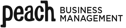 Peach Business Management logo.png