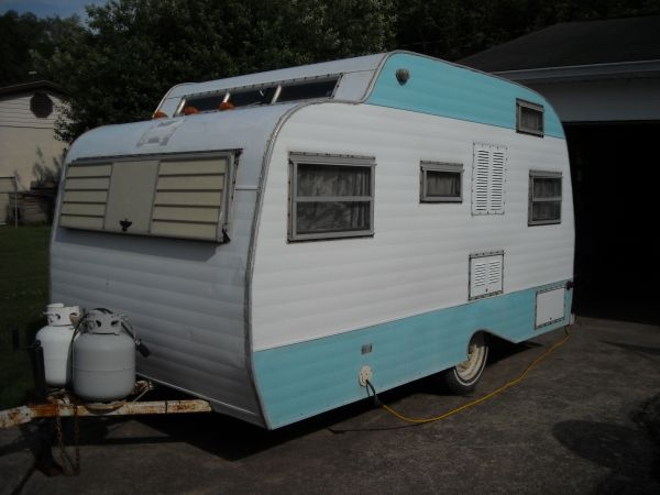 1971 Serro Scotty. Above photo is not this trailer. The trailer available is stripped to the frame and is ready for full restoration.   $1500.00