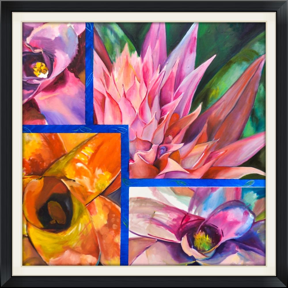 Bromeliad Quartet