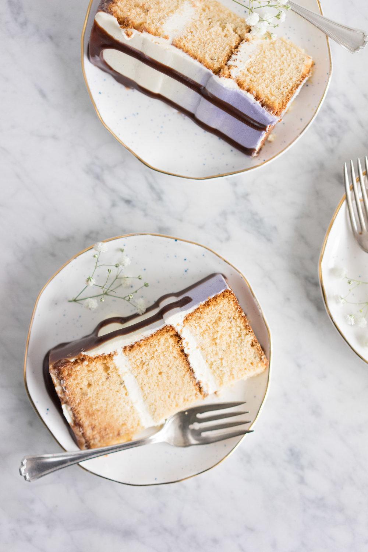 Cloudy Honey Cake
