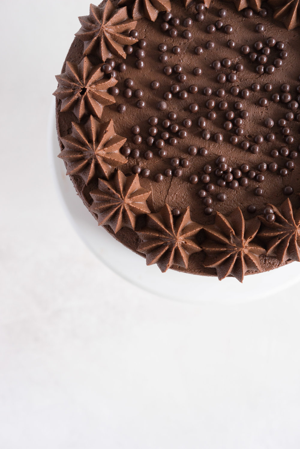One Bowl Devil's food Layer Cake with Milk Chocolate Frosting - from the new Bravetart book!