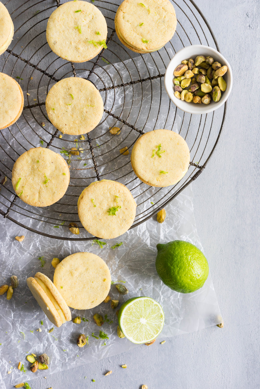 Watch Lemon-Lime Shortbread video