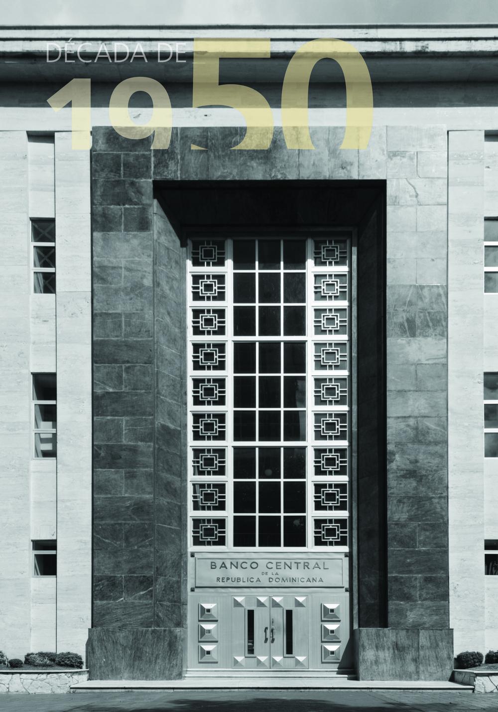 Antiguo Banco Central de R.D., S.D. 1956.