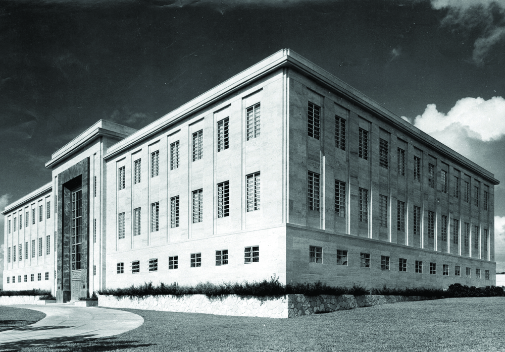 Antiguo Banco Central de la República Dominicana, Gazcue, S.D. 1956.