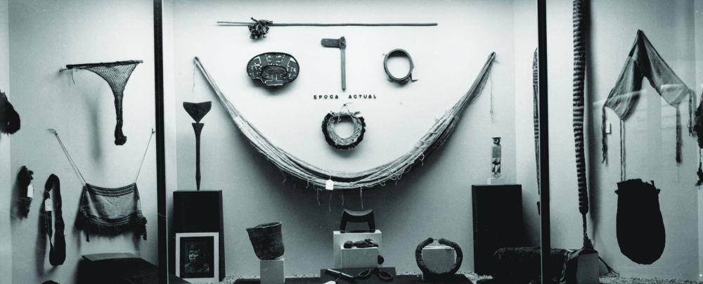 Museografía del Museo del Hombre Dominicano, 1973.
