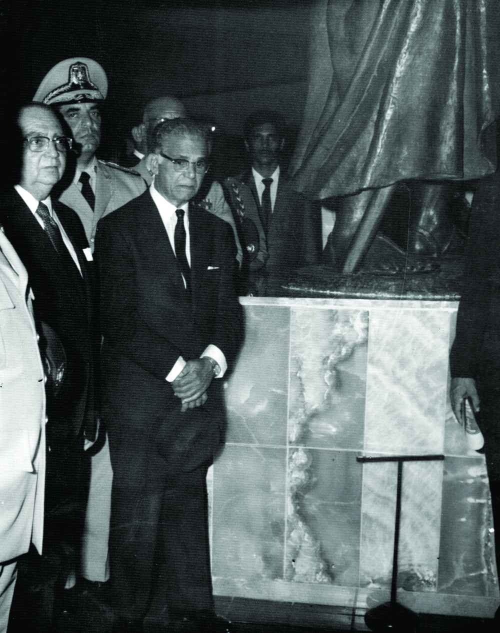 José Antonio Caro Álvarez junto al Presidente Joaquín Balaguer