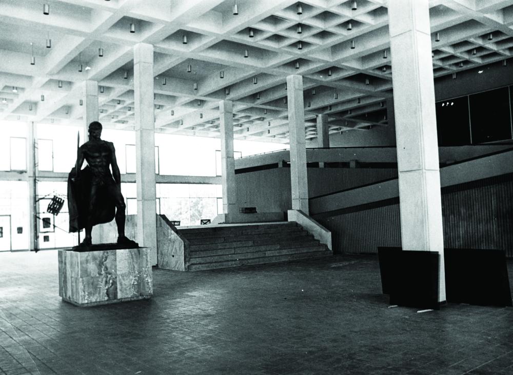 Museo del Hombre Dominicano, Plaza de la Cultura, S.D. Tony y Danilo Caro Ginebra (diseño), Jaime Batlle (construcción), José Antonio Caro Álvarez (museografía), 1973.