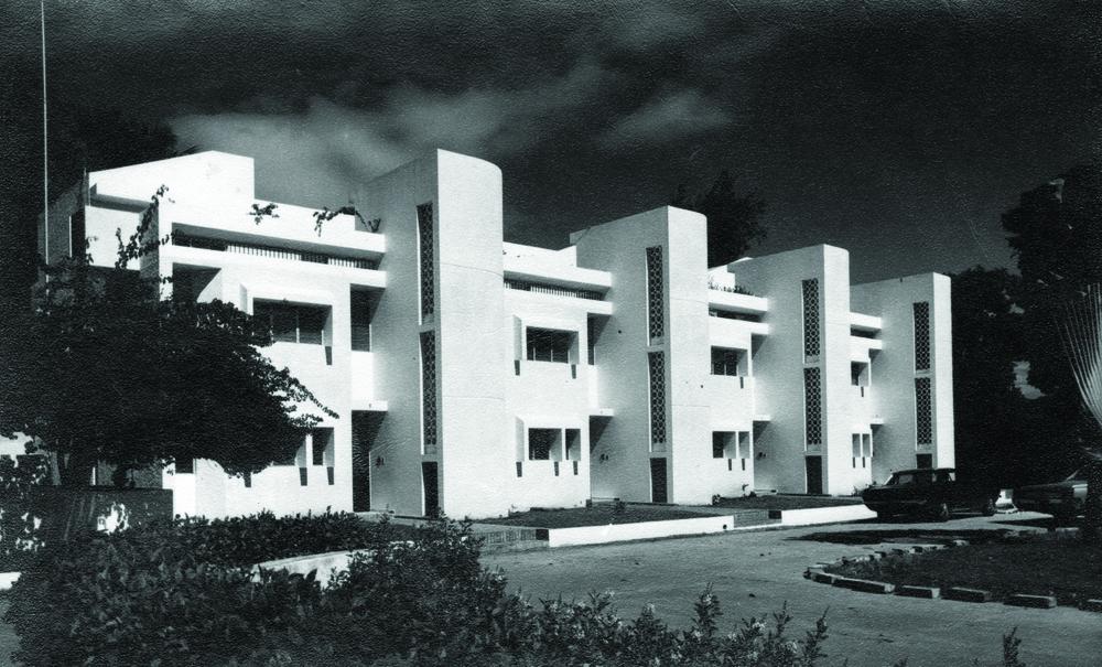 Varios proyectos desarrollados Ingeniería y Arquitectura en la década de los 70.