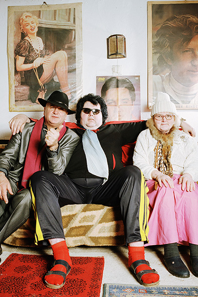 Francis Lane, Elvis-Imitator