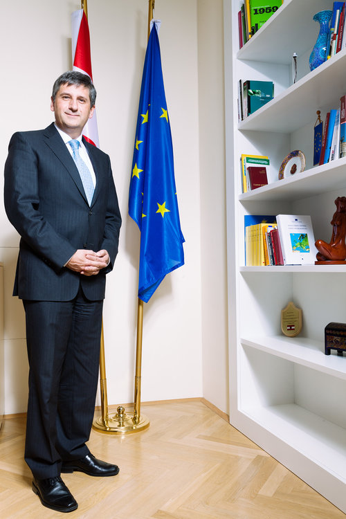 Michael Spindelegger / former Austrian Foreign Minister And Vice