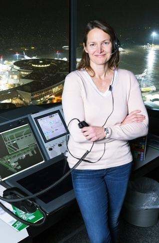 Austro Control / Tower Flughafen Wien / Fluglotsin Frau Brigitte