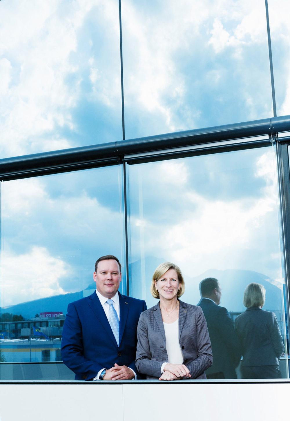 Haupt-GF Herr Markus Spellmeyer und Frau IT-GF Margit Eidhammer,