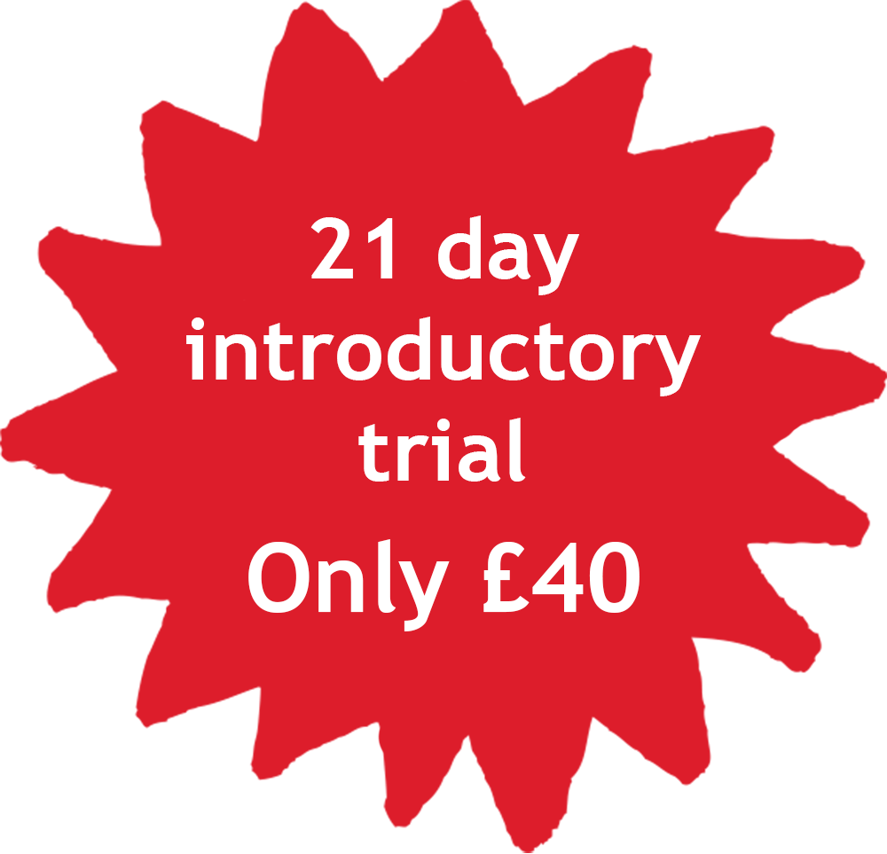 21 Day  Introductory  trial