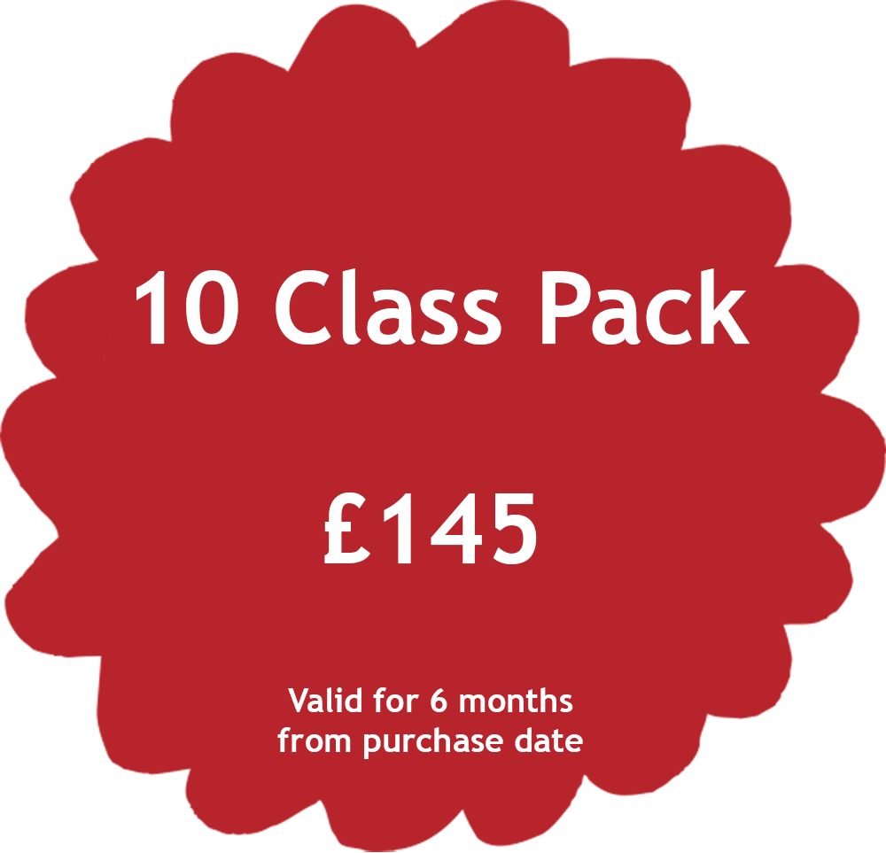 10 Class Pack Price Tag