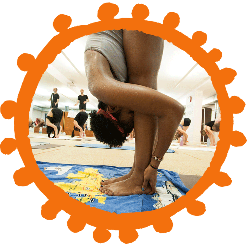 Bikram Yoga Hand to Feet Pose