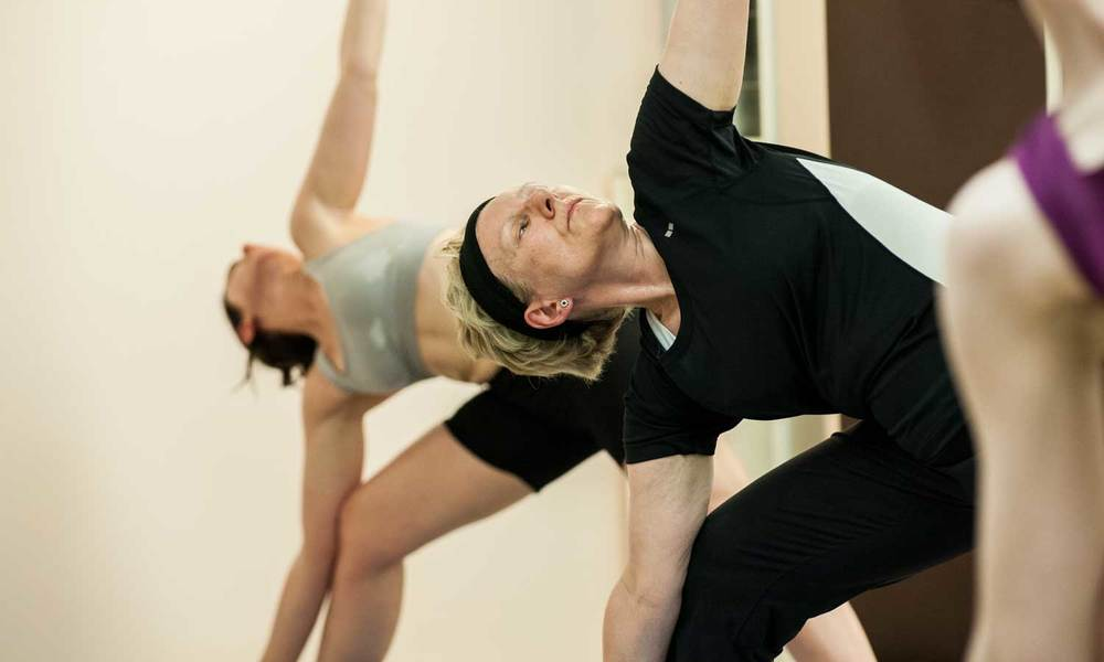 Bikram Yoga Triangle Pose