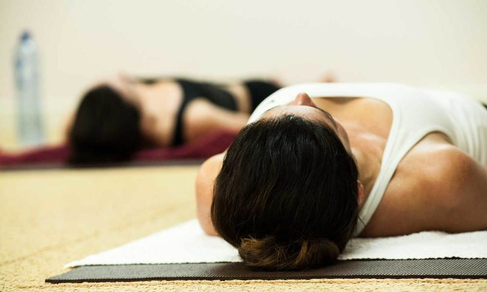 Bikram Yoga Dead Body Pose