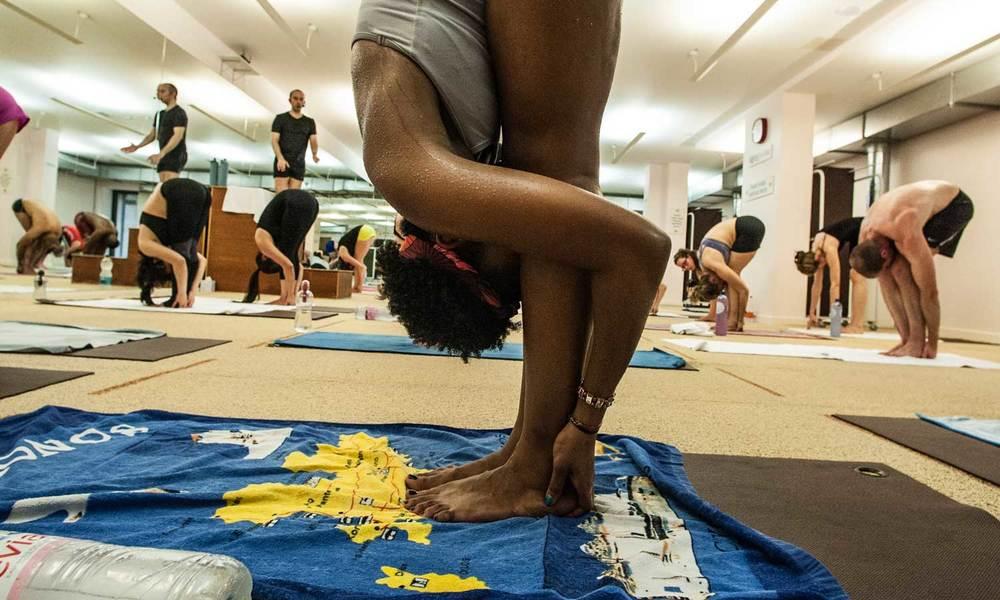 Bikram Hot Yoga Hands to Feet