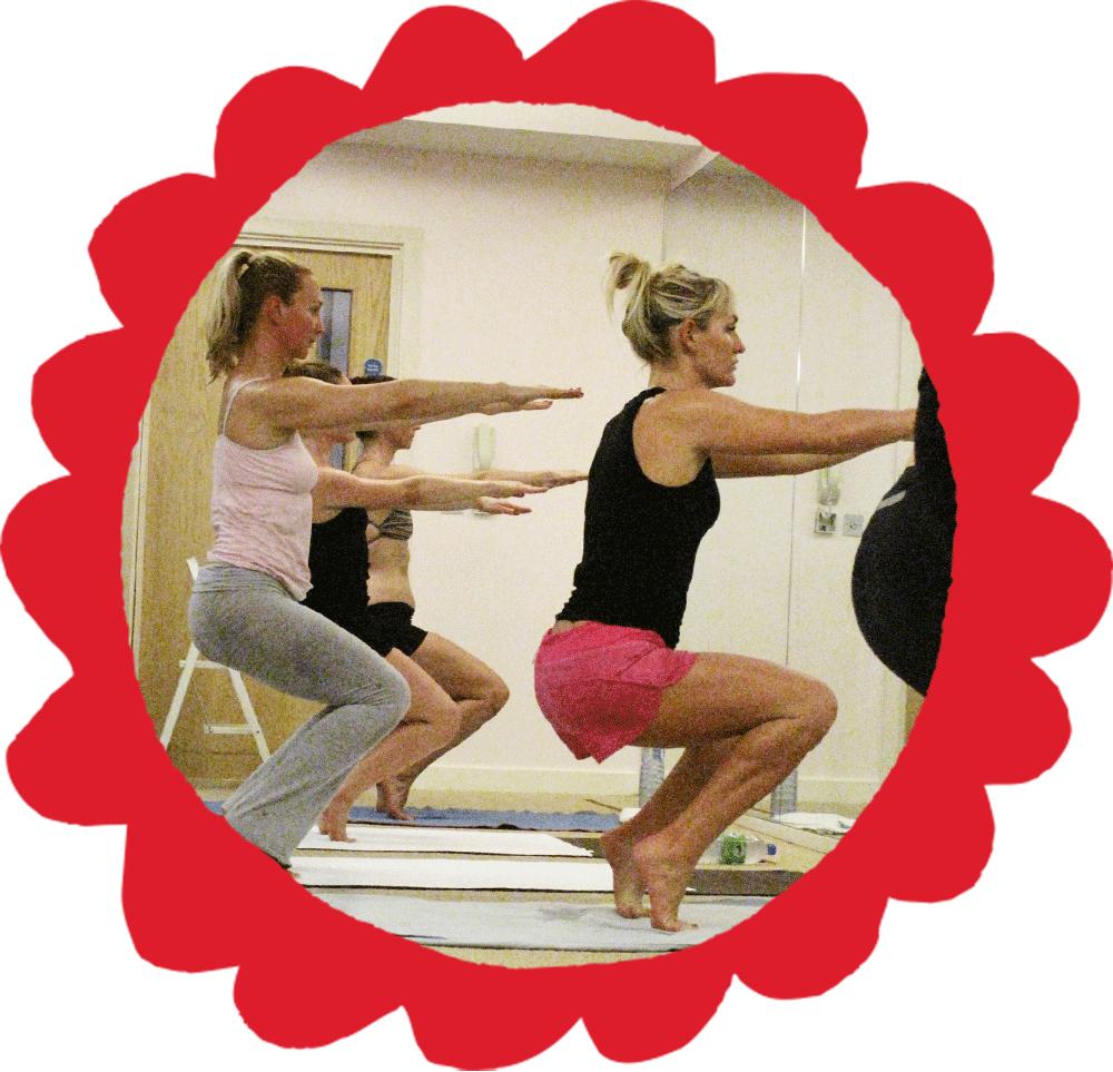 Bikram Yoga Awkward