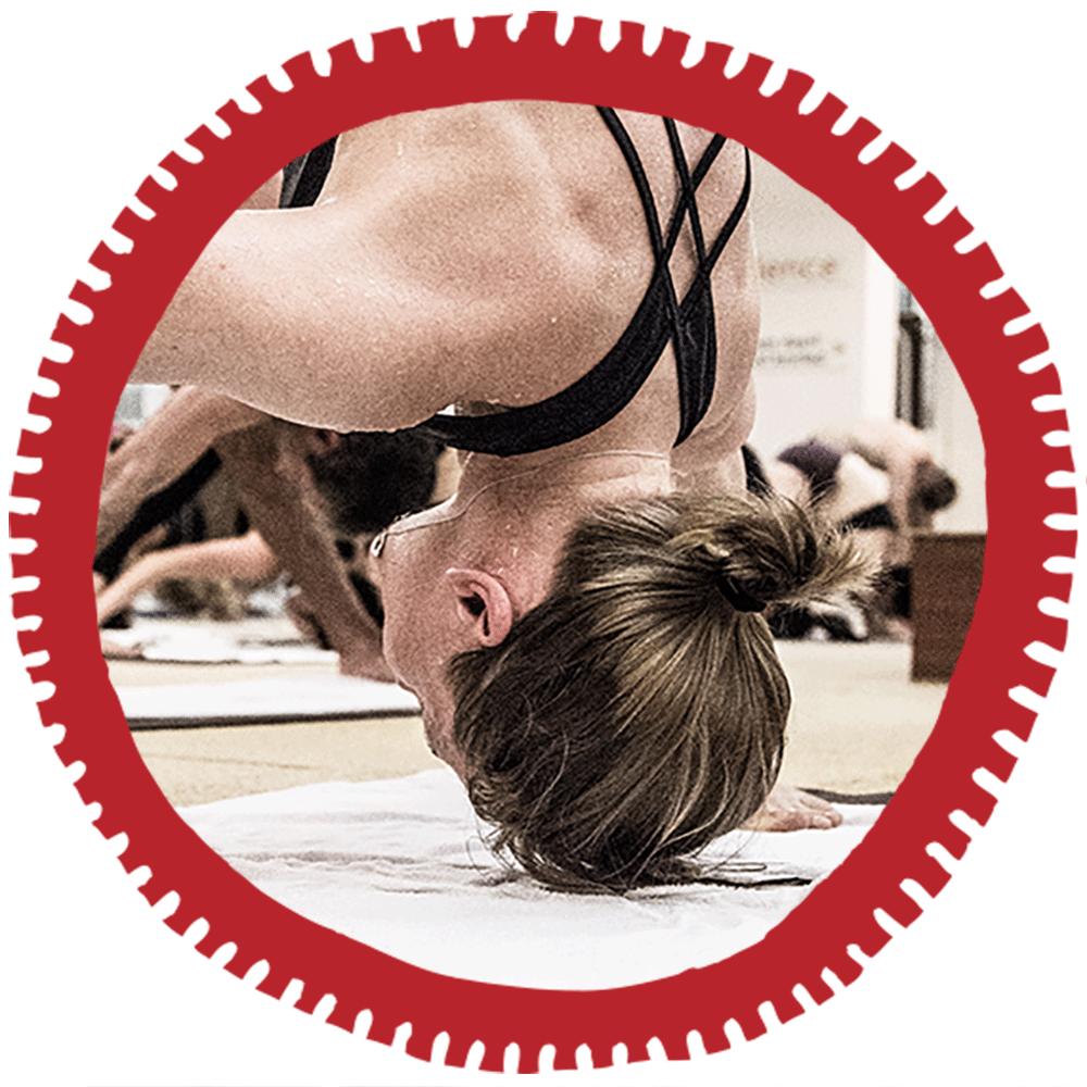 Bikram Hot Yoga Standing Separate Let Stretching