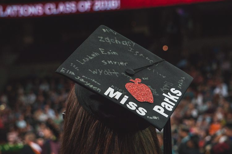 Education major Graduation Cap
