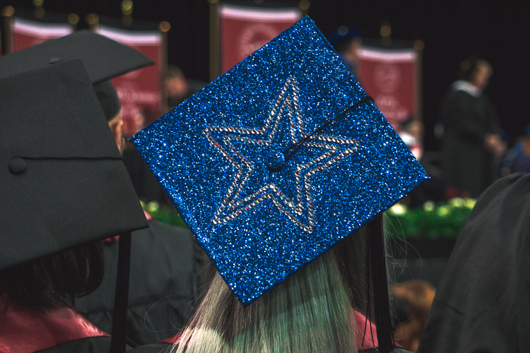 Cowboys Graduation Cap