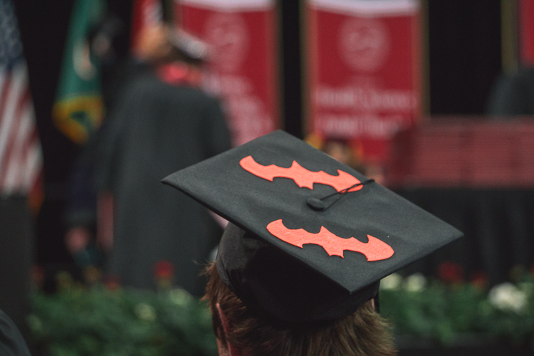 Batman Graduation Cap