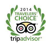 2014 Travelers' Tripadvisor Choice Award