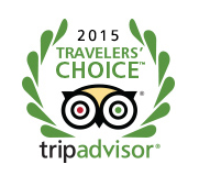 2015 Travelers' Tripadvisor Choice Award