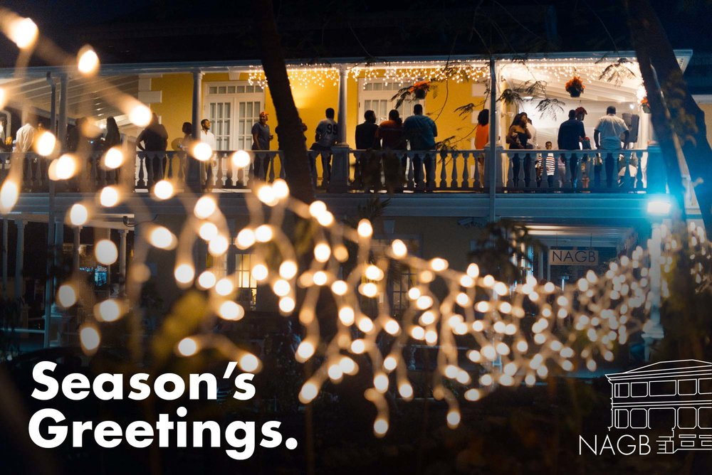 Seasons greetings from team nagb national art gallery of the bahamas therefore in this holiday season the entire team at the national art gallery of the bahamas wishes you a peaceful and restful time with family friends m4hsunfo