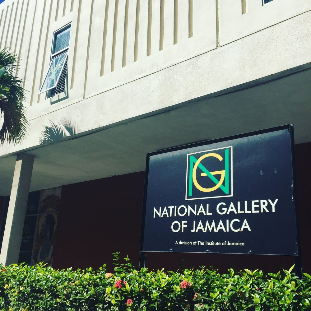 Facade, National Art gallery of Jamaica, Kingston