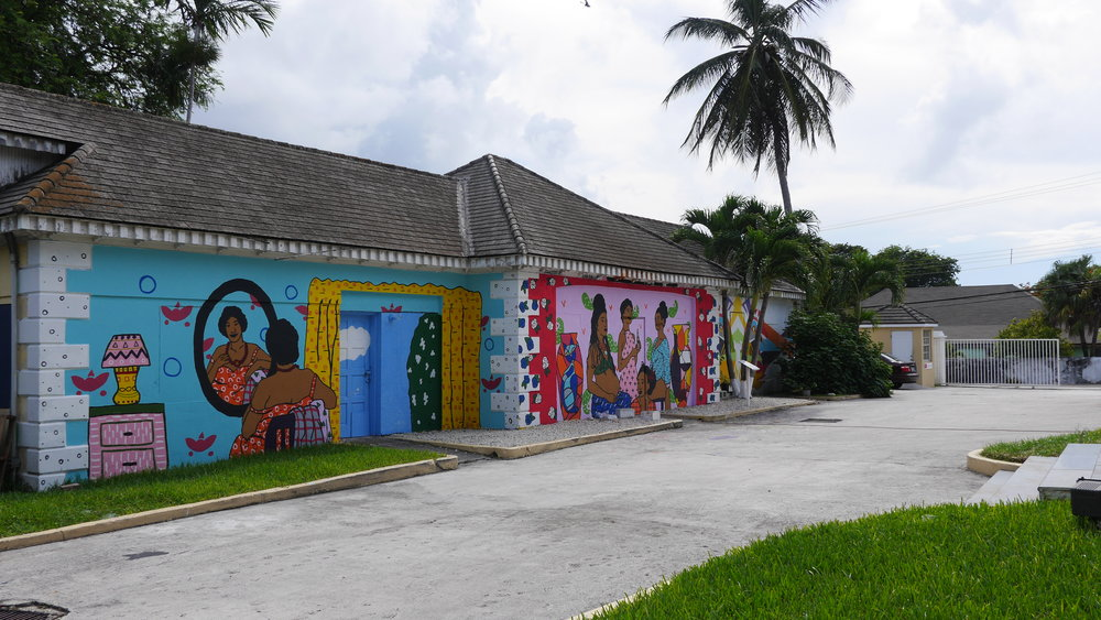 Nagb Mural Call Tellin We Story National Art Gallery Of The Bahamas