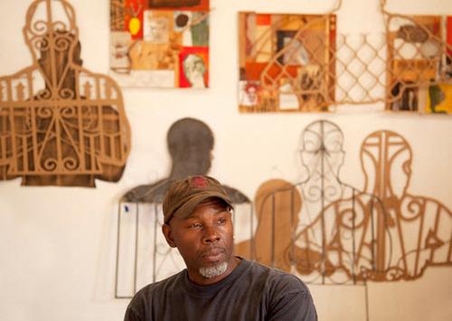 Headshot of Bahamian-Jamaican artist, John Beadle.