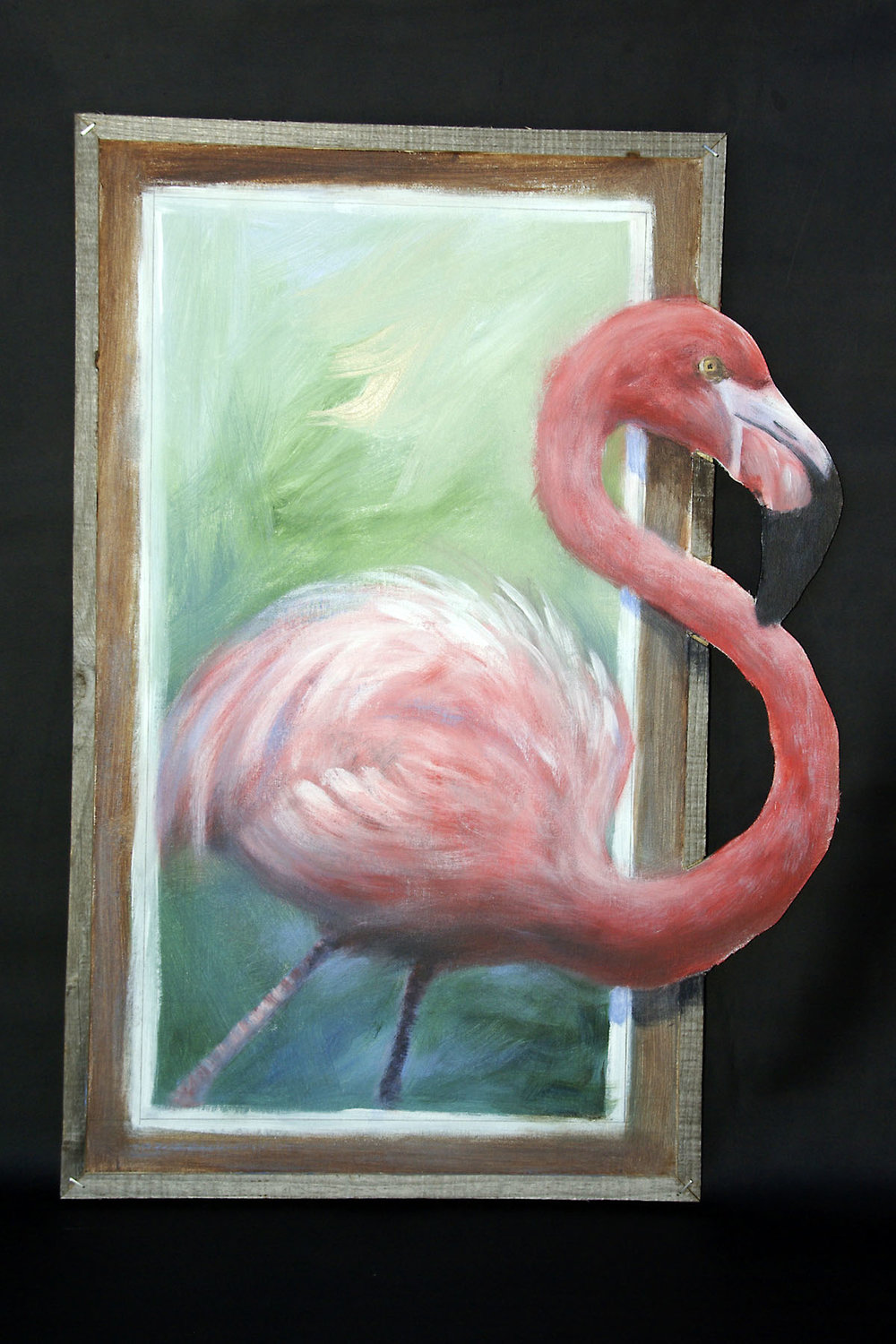 Flamingo by Quentin Minnis