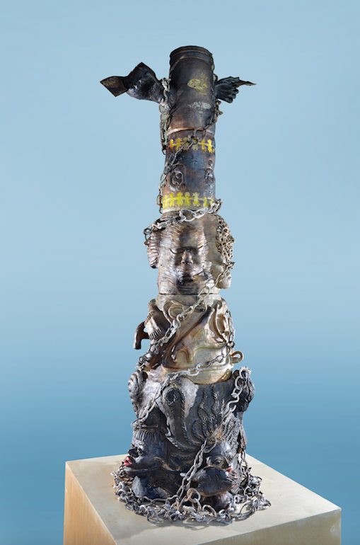 "Joann Behagg and Jackie Pinder's ""Equality"" sculpture for the National Exhibition 8"