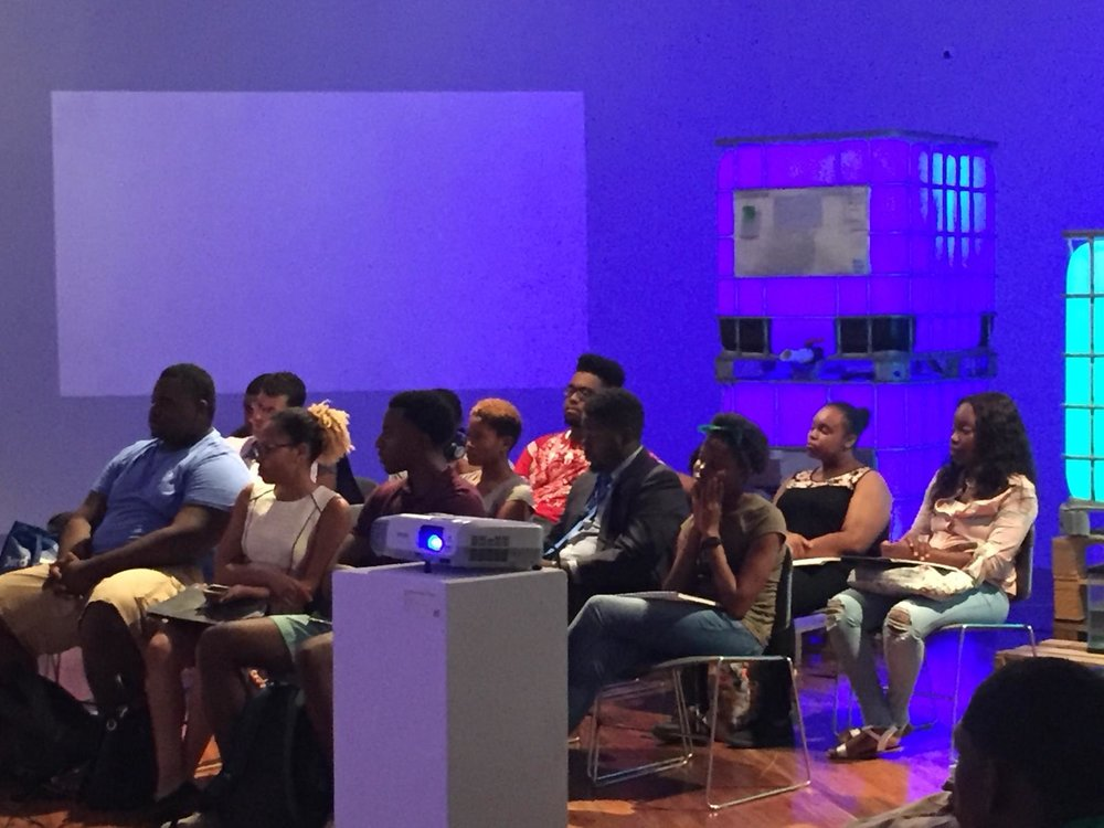 """Public in attendance at the recently held """"The Future of Democracy"""" conference which took place at the National Art Gallery of The Bahamas on September 24th and 25th, 2018."""