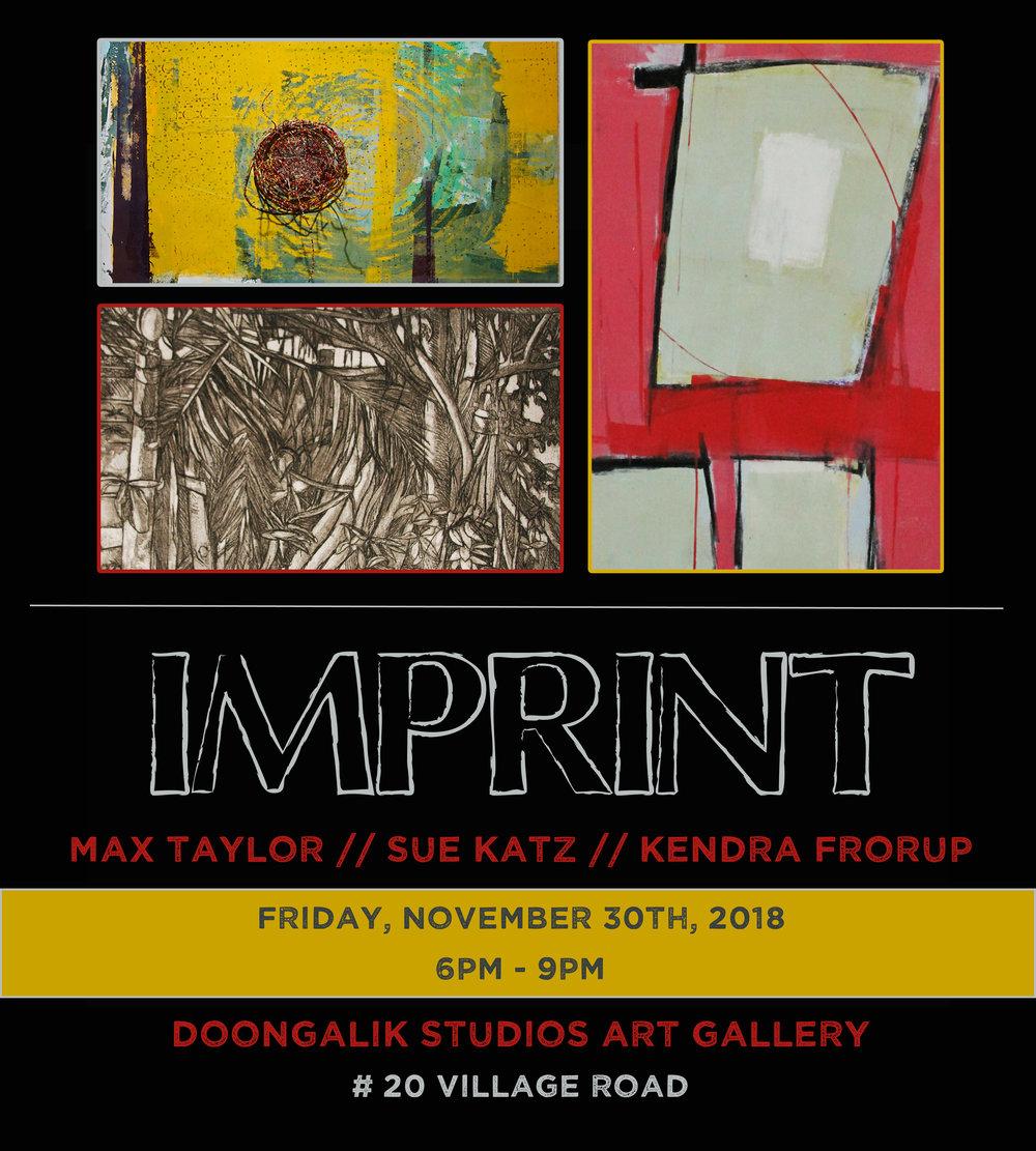 """Imprint"" evite"