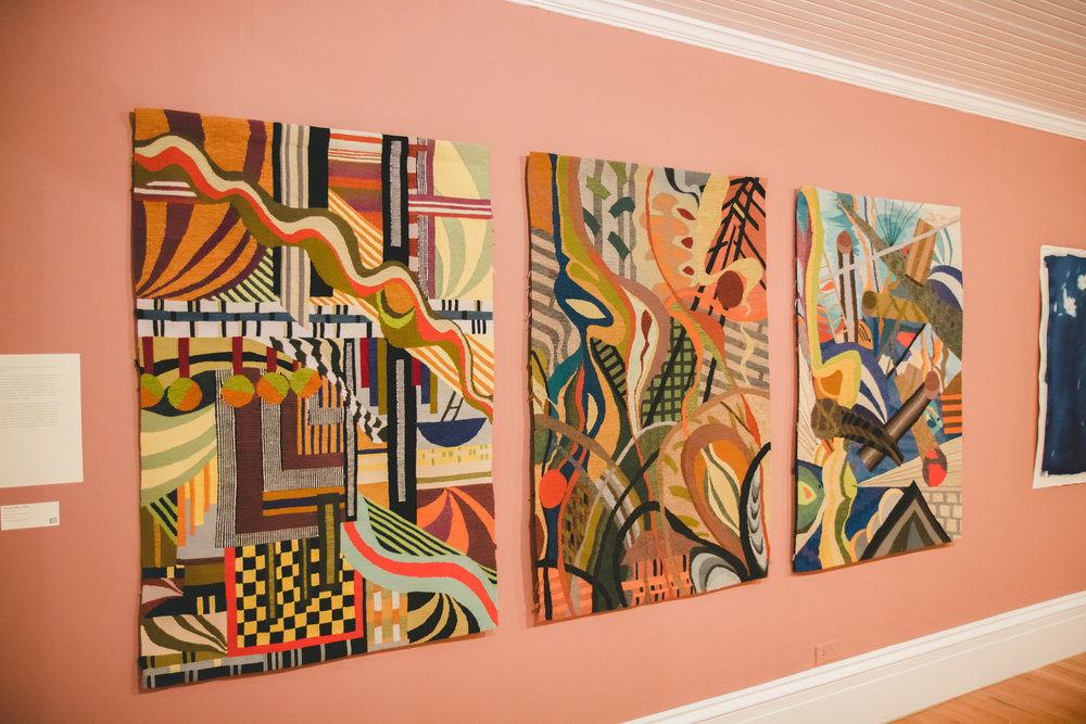 Tapestries by Jo Morasco as part of the NE9.