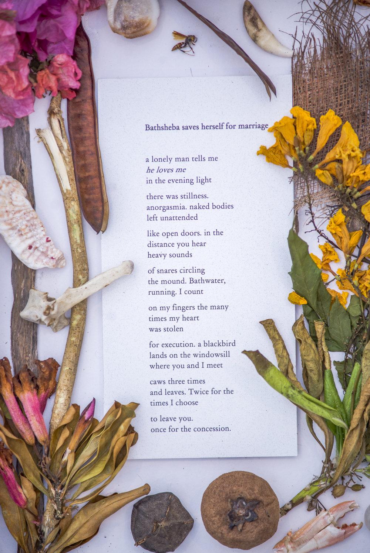 a garden , 2018. Letitia Pratt. Mixed Media.