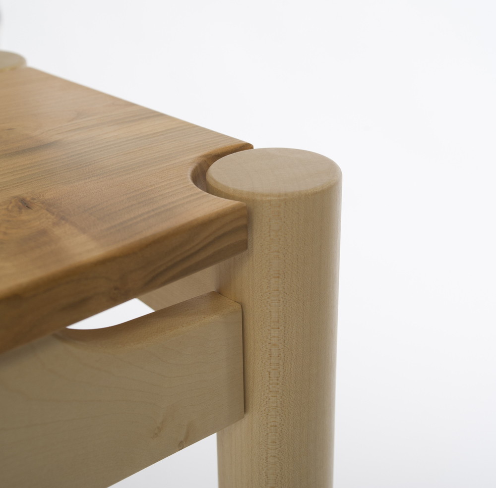 Concentric Side / Console Table detail