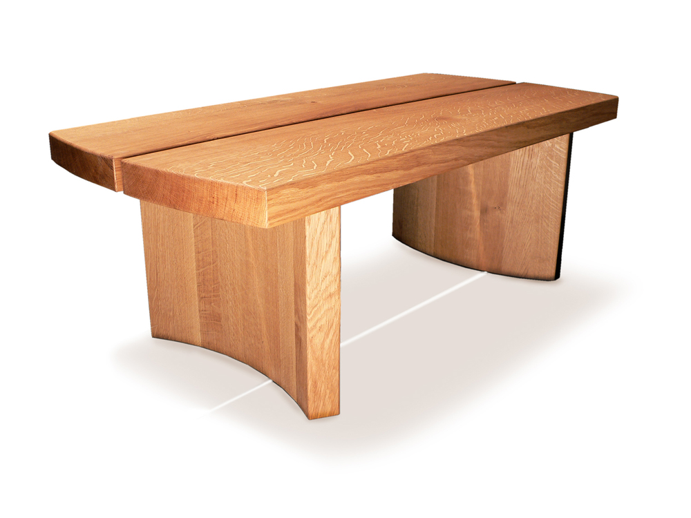 Coopered Coffee Table