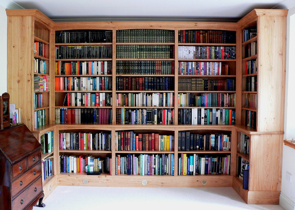 Hay on Wye Book Library