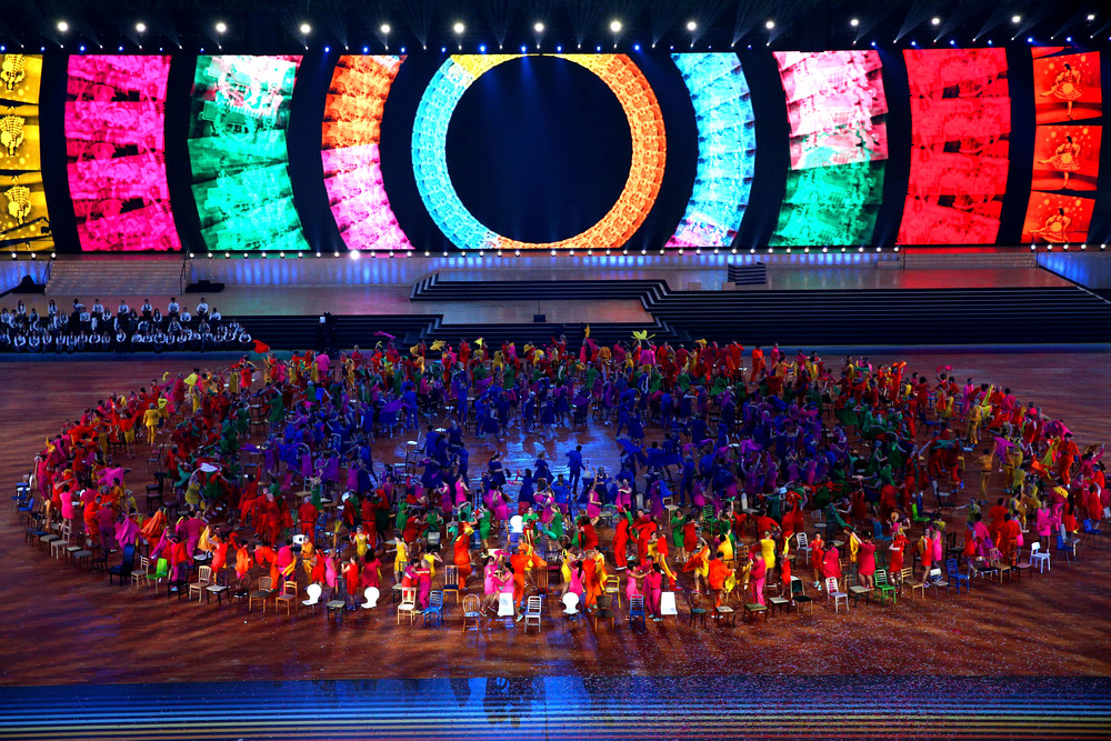 Commonwealth Games opening ceremony, Glasgow 2014