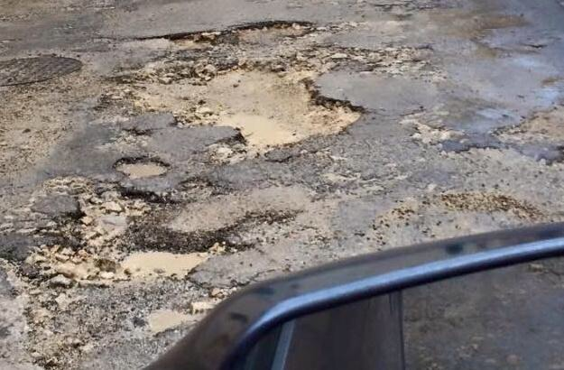 This is an example of what one might find. This is only used as an example and it was taken in Gozo on a Gozitan road, it may have been fixed by now as I am not sure if it was fixed or not.